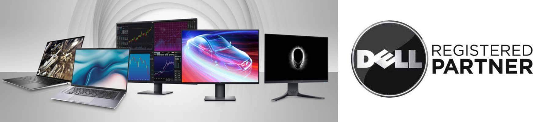 Dell Laptop and Moniters