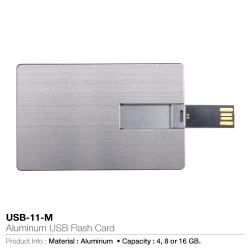 ALUMINUM CARD 4, 8, 16 & 32 GB USB FLASH DRIVES PRICE IN DUBAI UAE