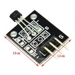 Analog Hall Magnetic Sensor Module