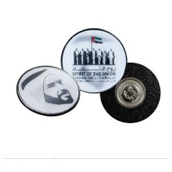 Badges with Sheikh Zayed Picture