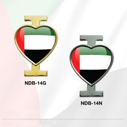 I Love UAE Badge