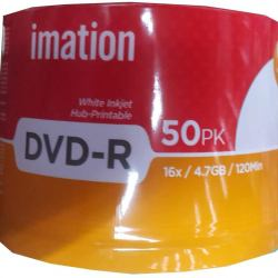 Imation DVD-R 4.7 GB 50 Pcs
