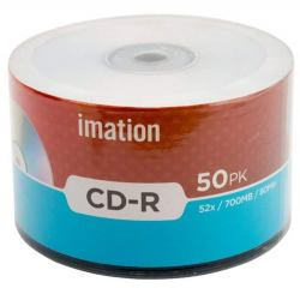 Imation CD-R 700 MB 52X 50 CD Pack