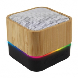 Promotional Cube Bamboo Bluetooth Speaker