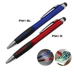Pen with Stylus and Laser illuminated