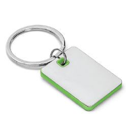 Metal Keychains Square