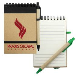 Recycled Notepads with Pen RNP-04