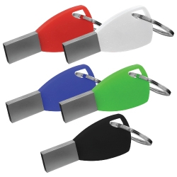 Silicone Keychain USB Flash Drives