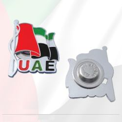 UAE Flag Badge For National Day