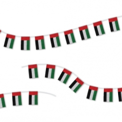 UAE 32pcs String Flags