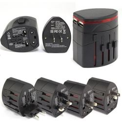 Universal Travel Adapter 2 USB Ports