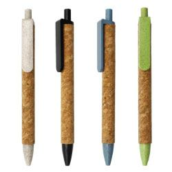 Wheat Straw and Cork Pens