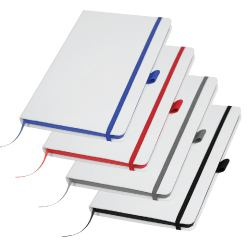 White Cover PU Notebooks MB-05