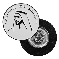 Year of Tolerance Metal Badges
