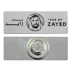 Year of Zayed Metal Badges
