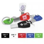 Silicone Keychain USB Flash Drives