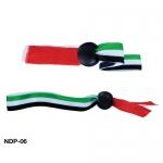 UAE FLAG RIBBON WRISTBANDS