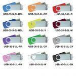 USB FLASH DRIVES WITH 2 SIDES EPOXY LOGO 8GB