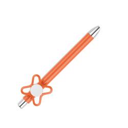 Spinner On Top Orange Ball Pen