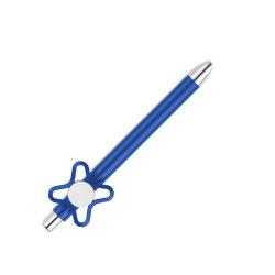 Spinner On Top Blue Ball Pen
