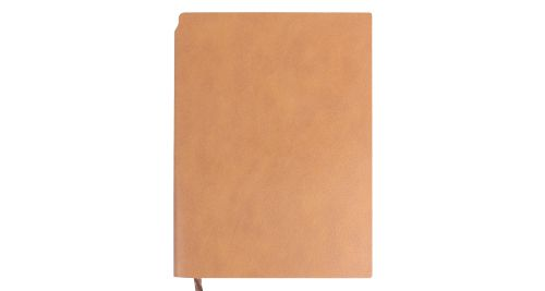 A5 Size PU Leather Notebooks Beige
