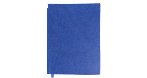 A5 Size PU Leather Notebooks Blue