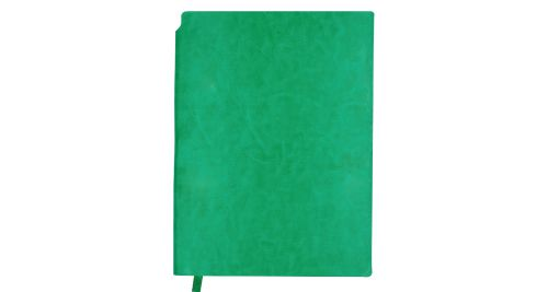 A5 Size PU Leather Notebooks Green