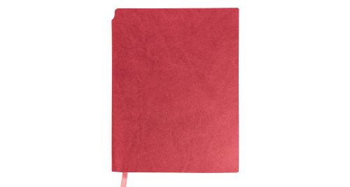 A5 Size PU Leather Notebooks Red