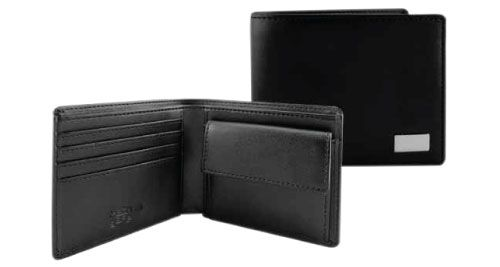 RFID Protected BI-fold Coin Wallets