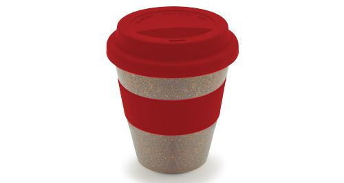 Wheat Straw Cup Red