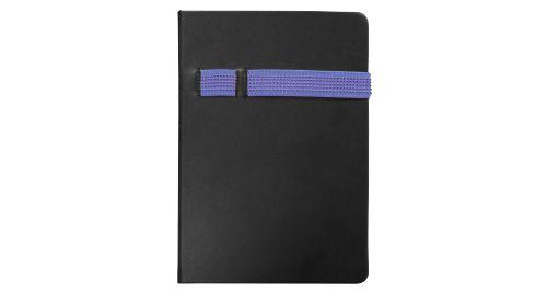 Black A5 Size Notebooks Blue