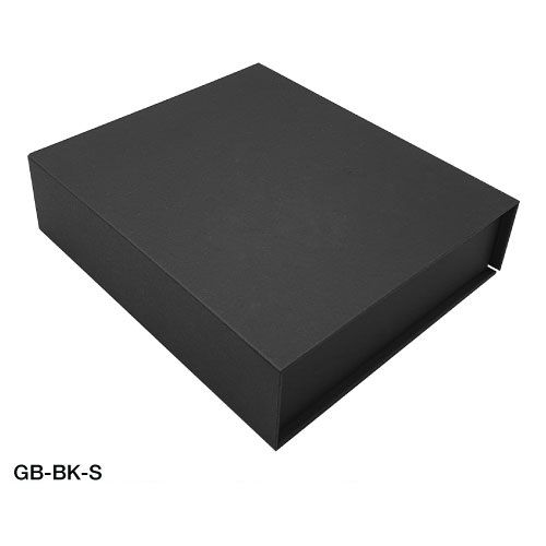 Black Gift Box with Magnetic Flap