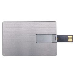 Aluminum Card USB Flash Drives