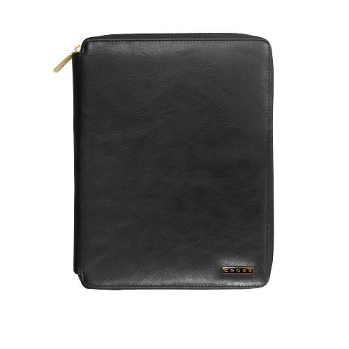 CROSS Leather Zipper Padfolio