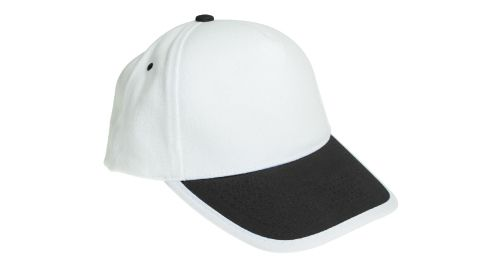 Cotton Caps White and Black