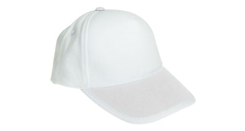 Cotton Caps Solid White Color