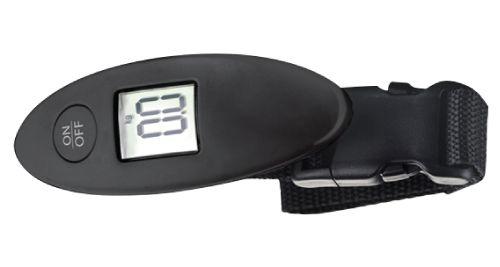 Digital Luggage Scale Black