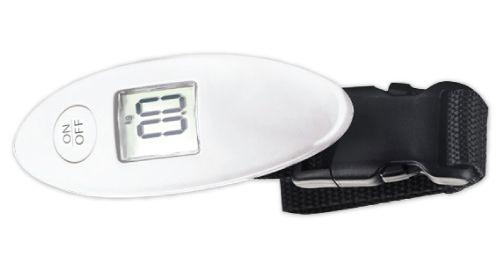 Digital Luggage Scale White