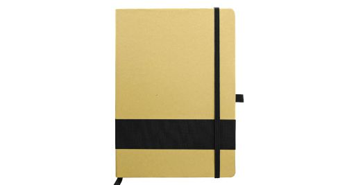 Eco Friendly Notebook with Strip Black