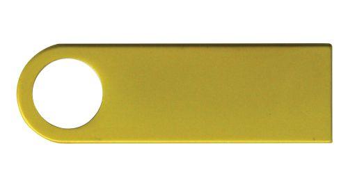 Gold Metal USB Flash Drive 4GB