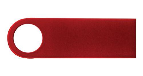 Red Metal USB Flash Drive 4GB