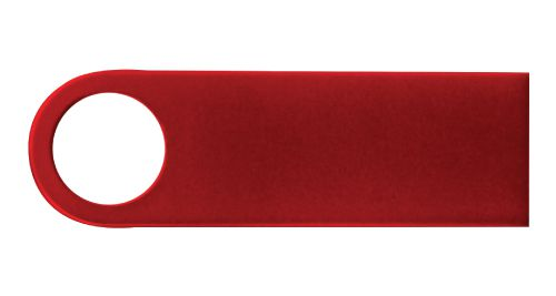 Red Metal USB Flash Drive 16GB