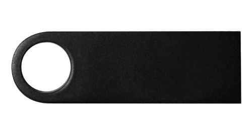 Black Metal USB Flash Drive