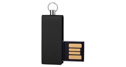 Mini USB Flash with Black swivel 16GB