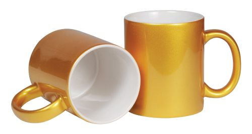 Mugs in Gold Color 175-G