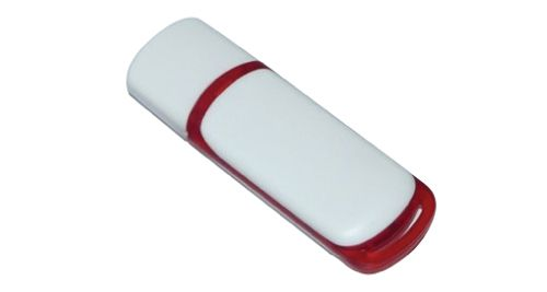 USB Flash Drives 8GB - White and Red
