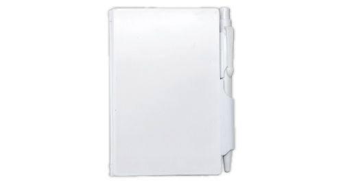 PVC Hard Cover Notepad with Pen