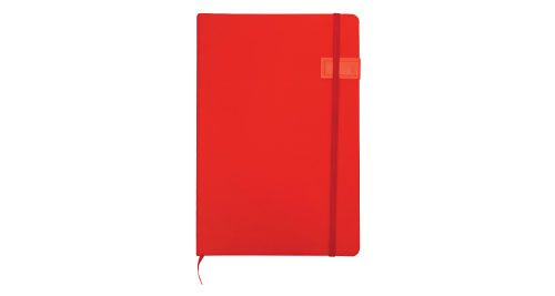 Notebook with USB Flash Chip Red Color 16GB