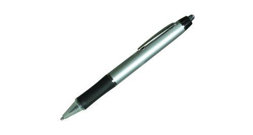 Plastic Pen - Silver