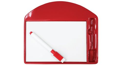 Promotional Writing Board Red
